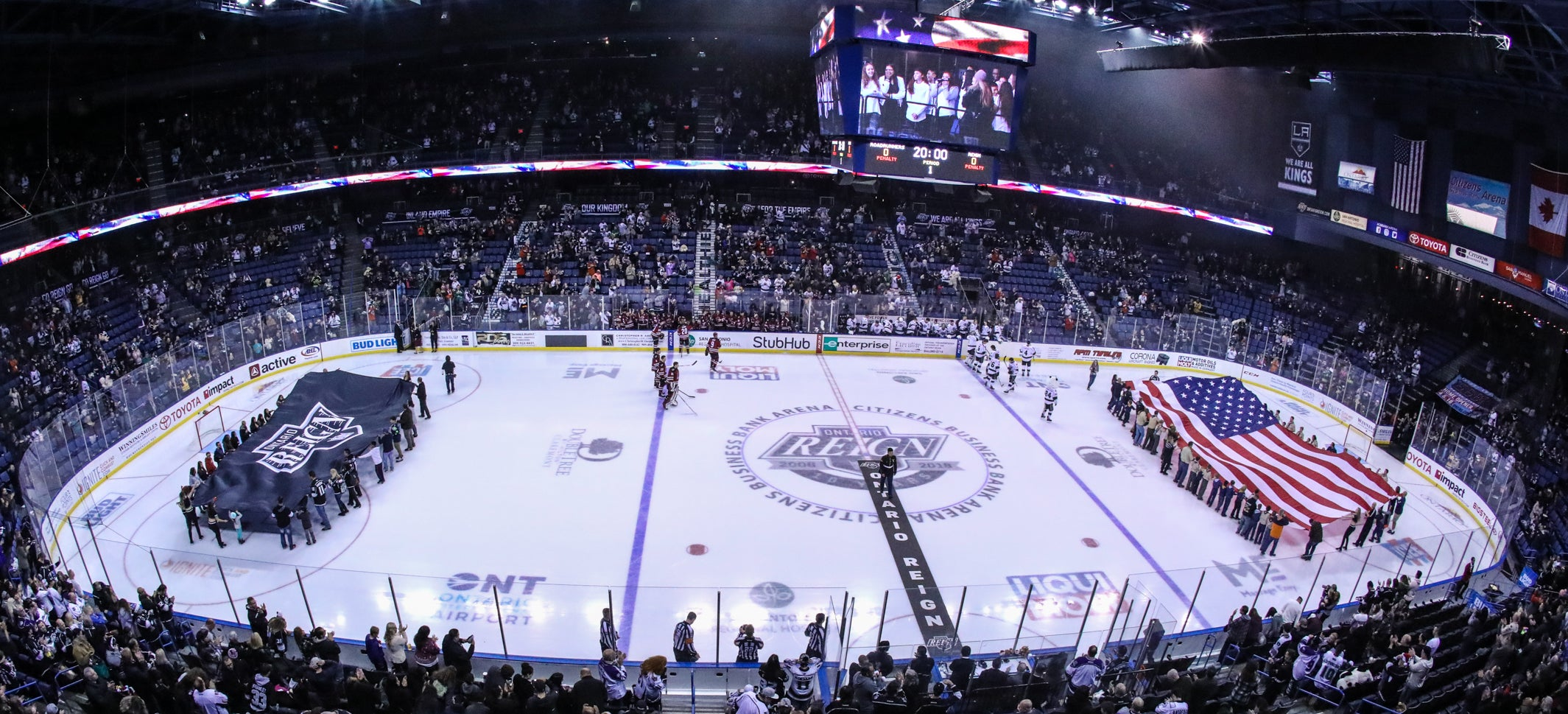 Group tickets experiences ontario reign