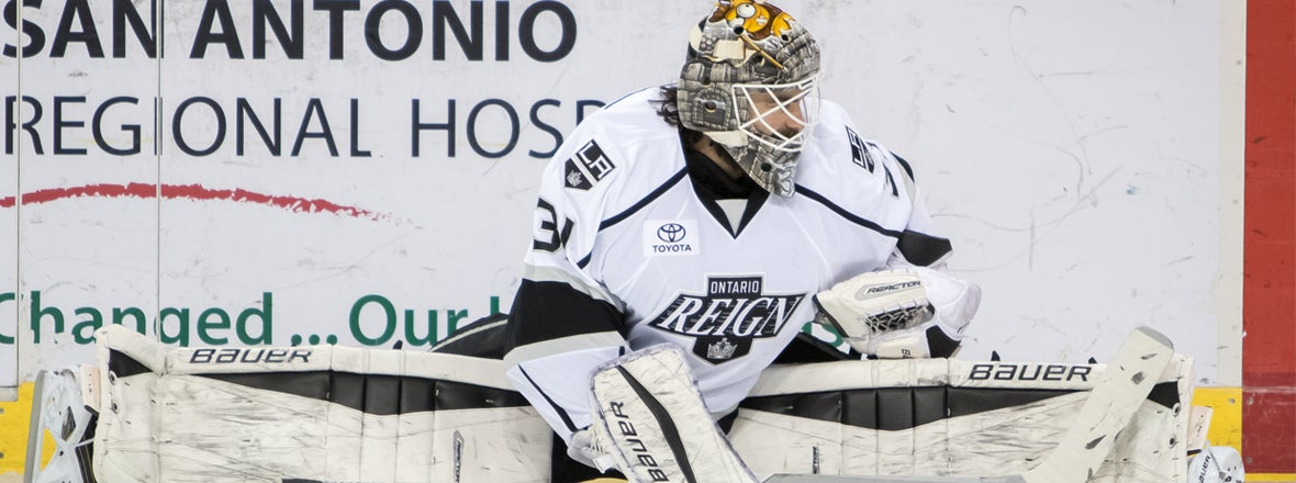 Budaj Named to AHL All-Star First Team