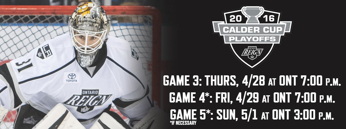 Reign Announce Home Playoff Dates