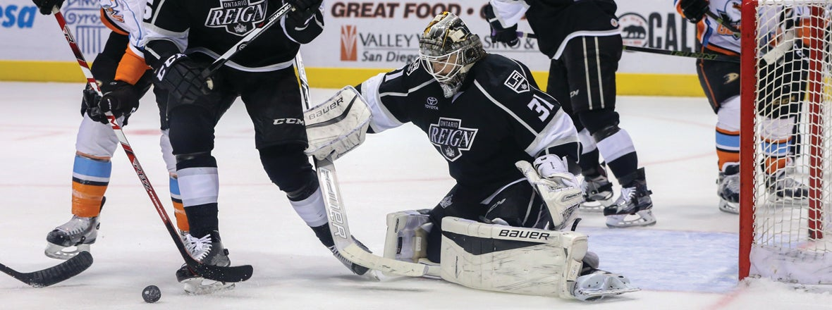 Auger Scores in OT for Game 2 Reign Win