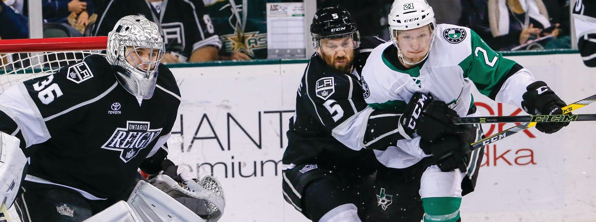 Reign Close Season Series with Stars Tonight