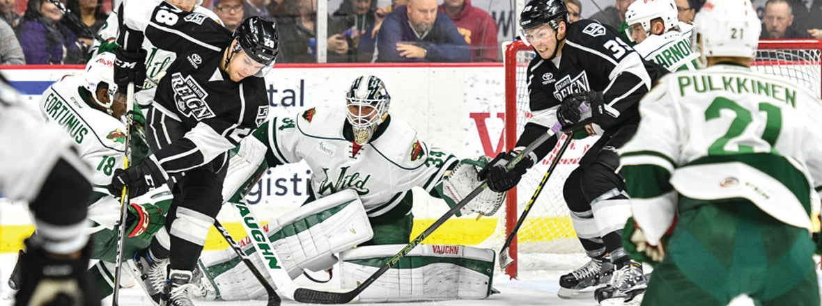 Reign Wallop Wild 6-5 in Shootout