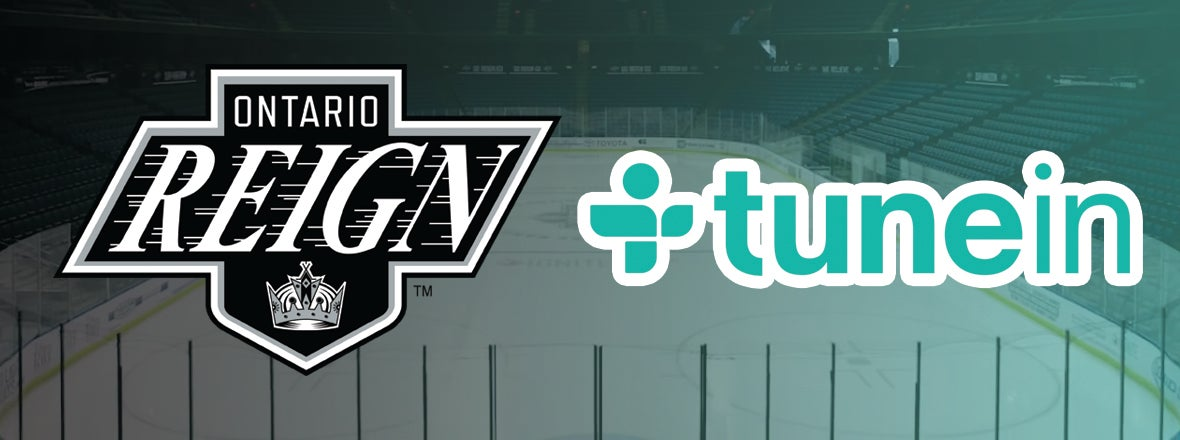 Reign Become First AHL Team with Exclusive TuneIn Station