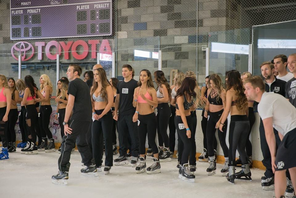 Reign & Kings Beat the Heat At Ice Crew Auditions
