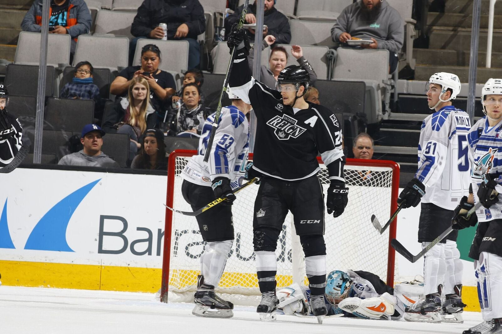 2016-03-13 - Reign win 4-1 Barracuda