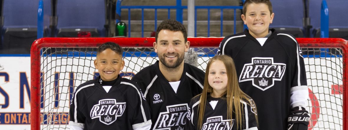 Reign Announce Jr. Reign Youth Program