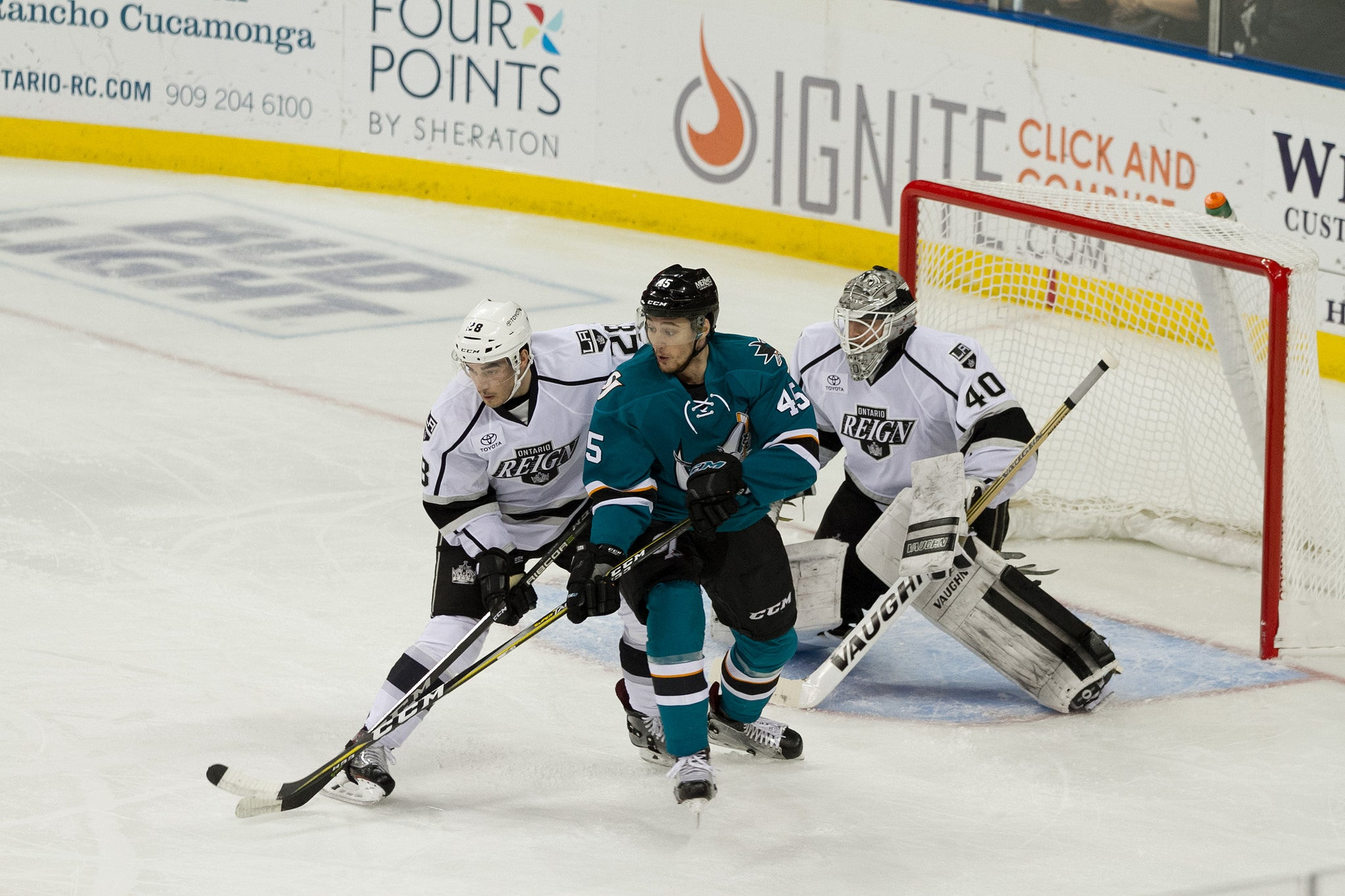 Petersen Shuts the Door as Reign Blank Barracuda 3-0
