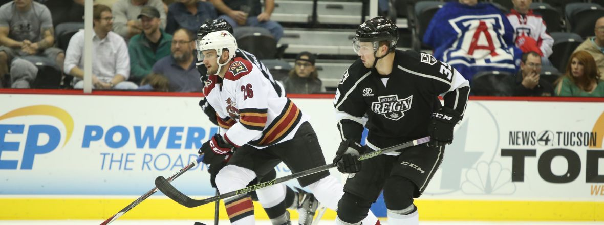 Reign Welcome Roadrunners Tonight on $2 Bud Light Friday