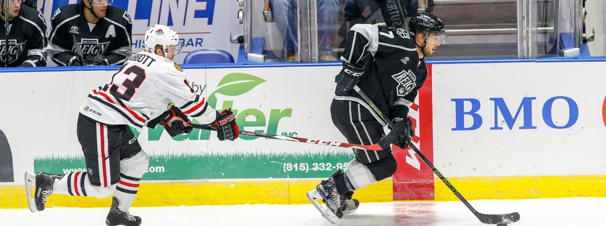 Reign Host IceHogs Today at 3 PM!
