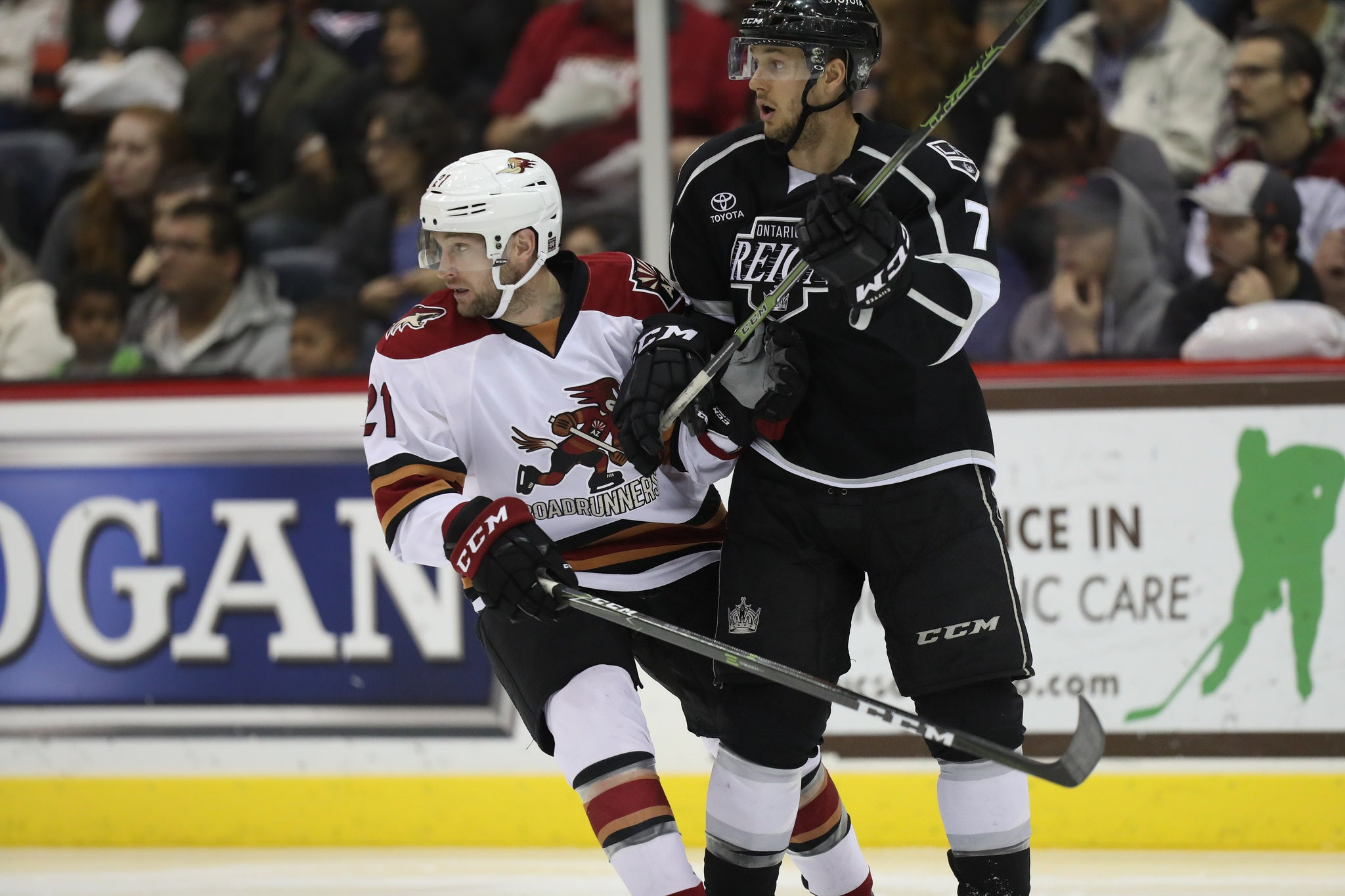 Reign and Roadrunners Clash Tonight