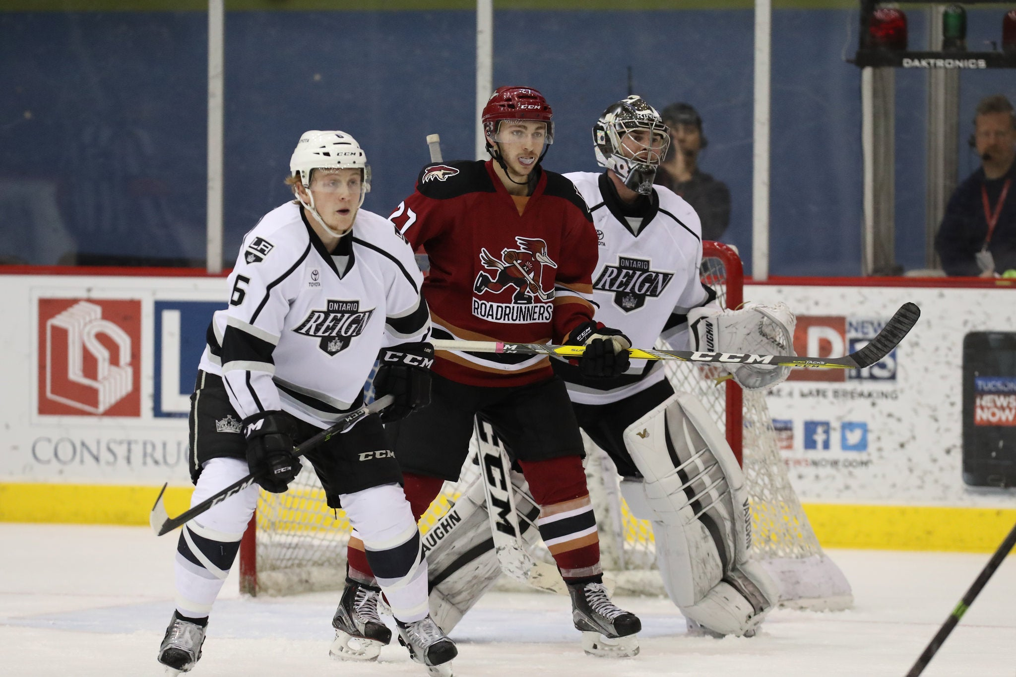 Reign Host Roadrunners on Kings Affiliation Night Tonight