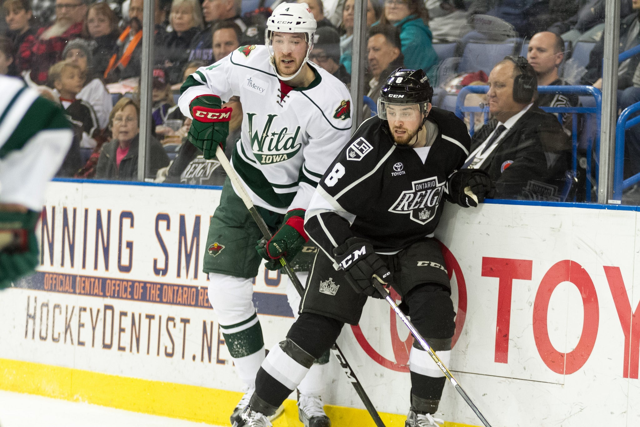 Reign Take Down Wild 3-1