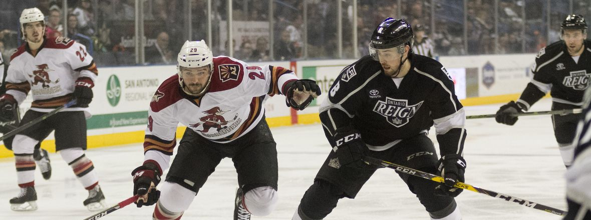 Reign Host Roadrunners Tonight at 6 PM!