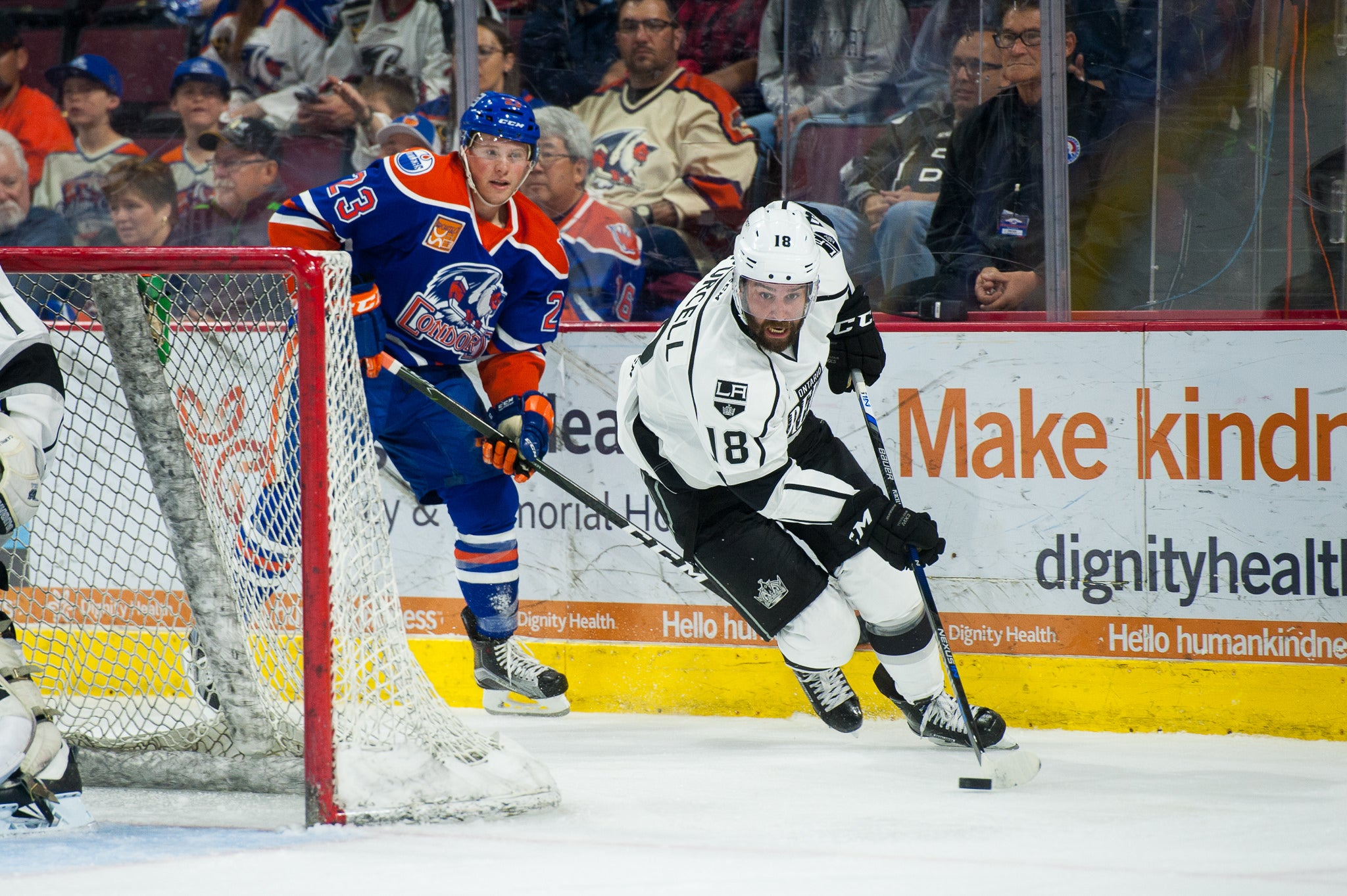 Reign Roll Past Condors 3-1