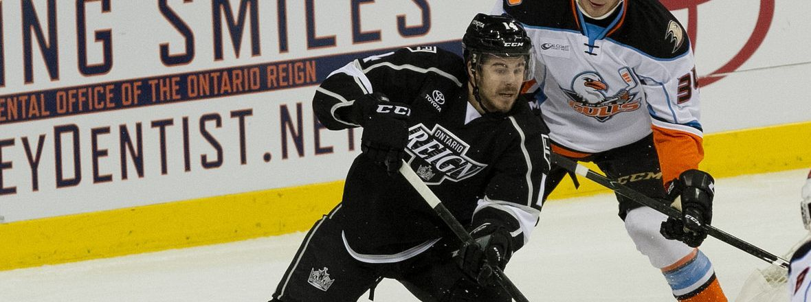 Reign Represented at Kings Rookie Camp