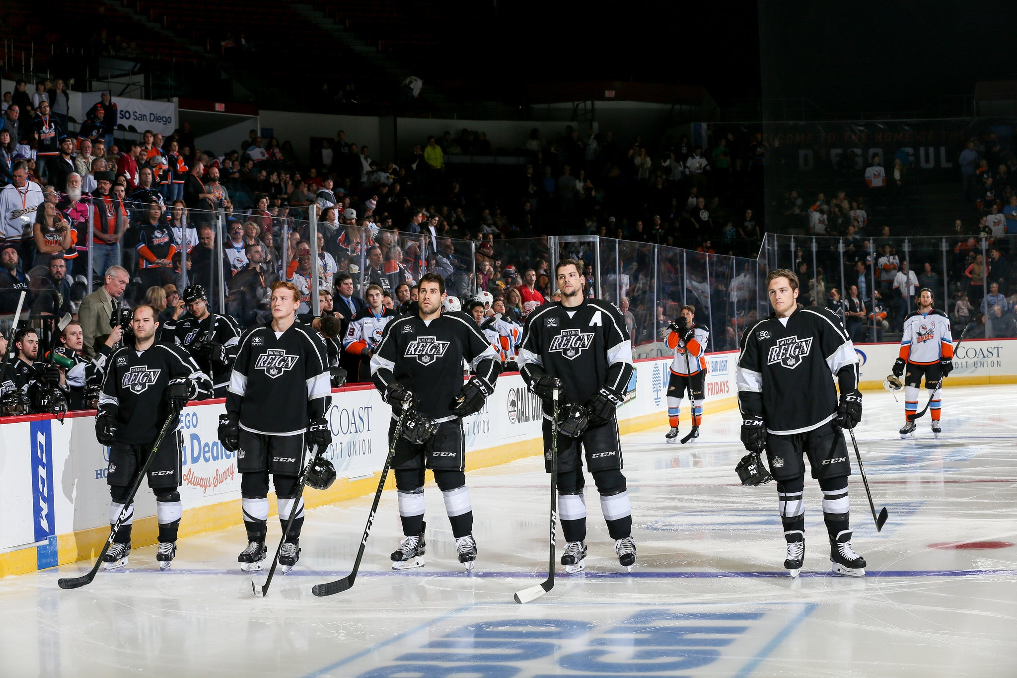 Live Audio and Blog: Reign at Gulls
