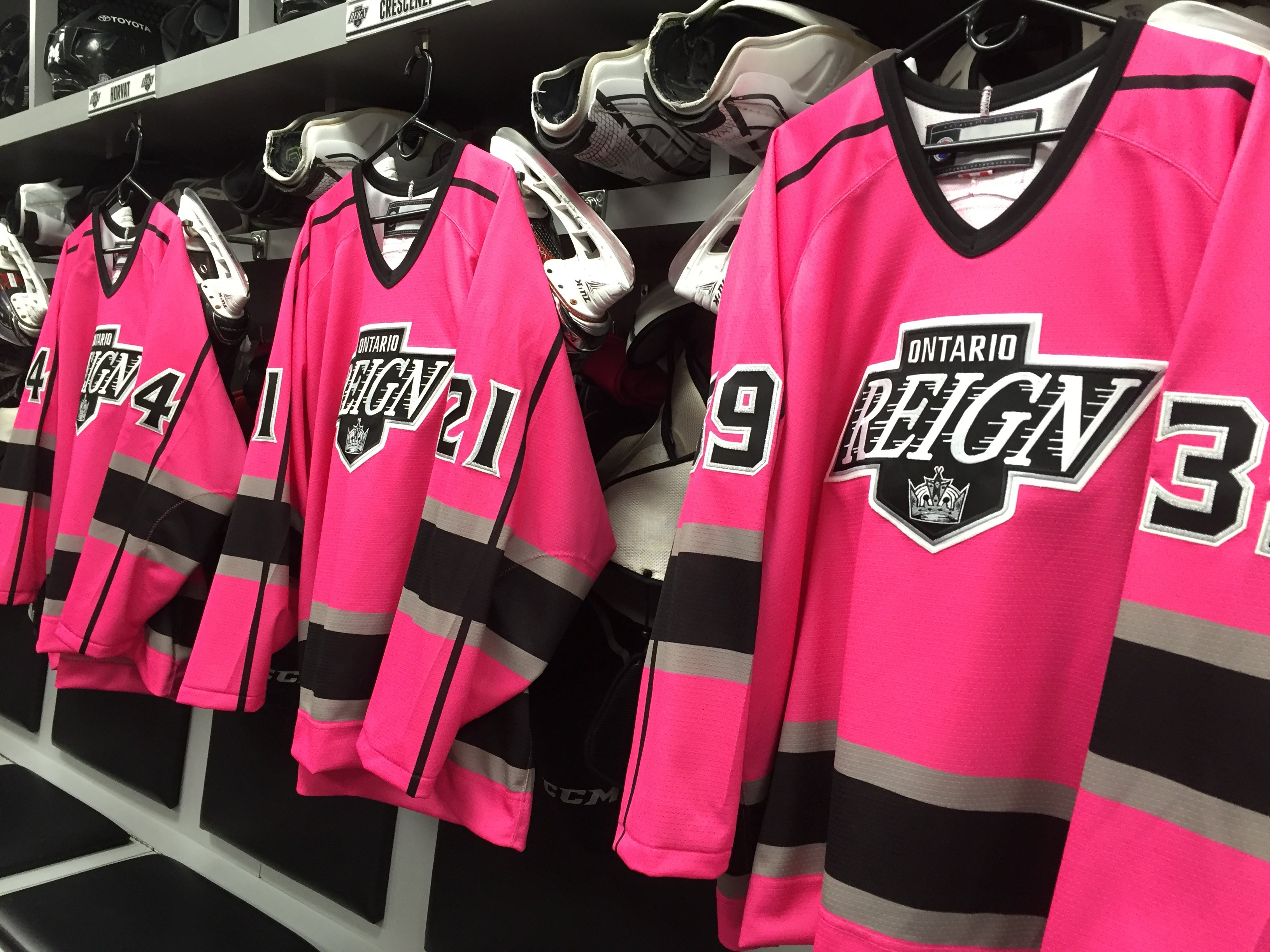 Reign Weekly: Pink in the Rink is Friday!