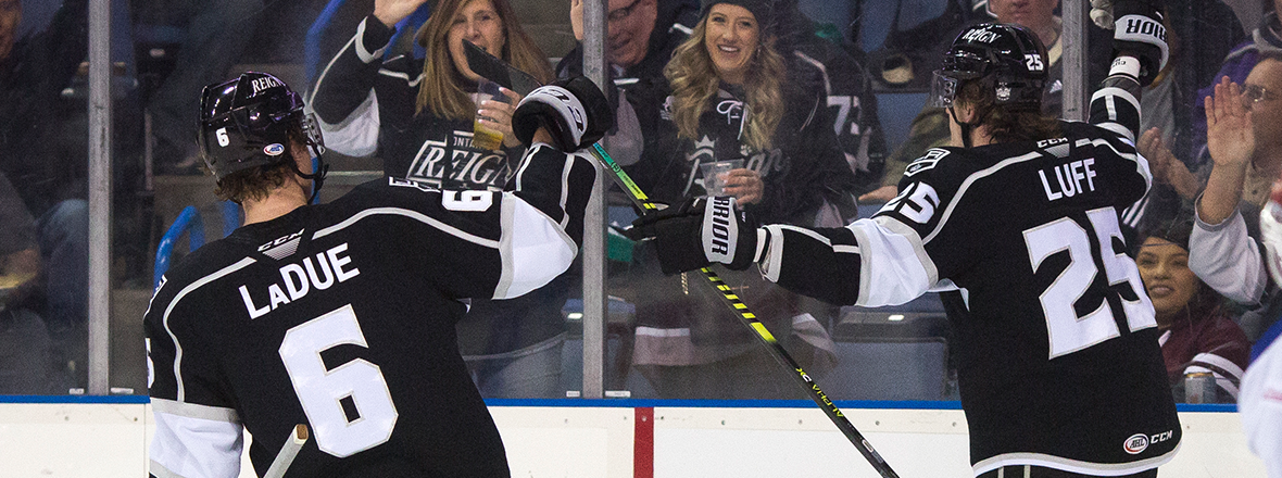 REIGN STAY HOT WITH 6-3 WIN OVER COLORADO