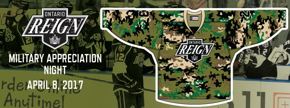 Reign Unveil Military Jersey
