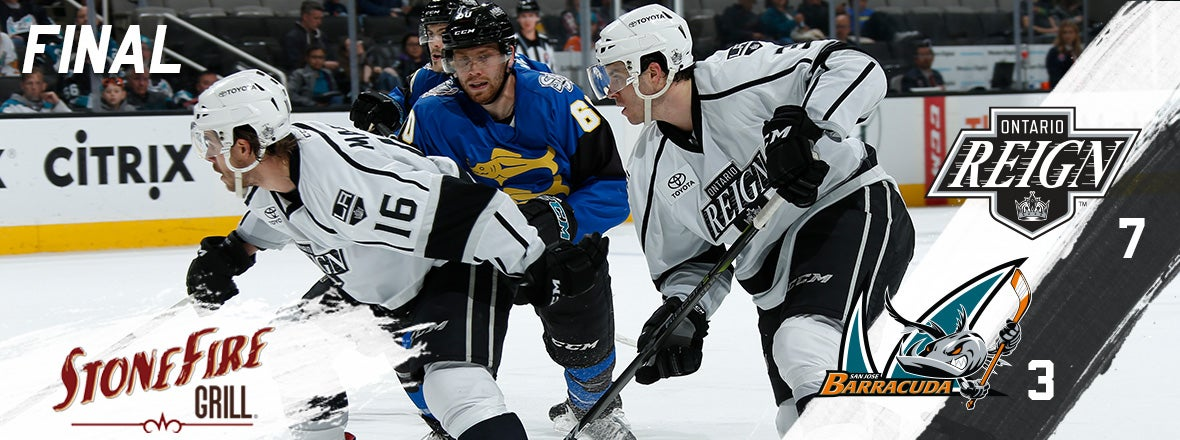 Maillet's Five Point Night Pushes Reign Past Barracuda