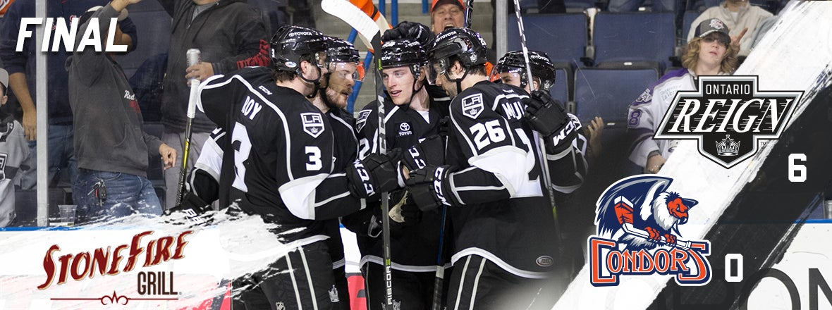 Reign Crush Condors in Ontario