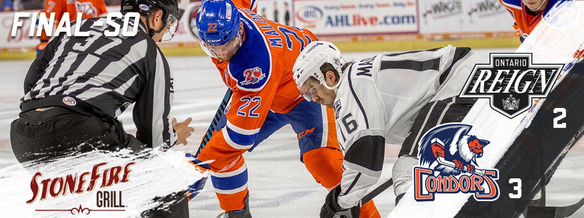 Reign Salvage Point but fall in shootout to Condors