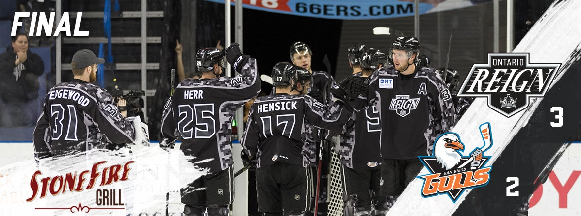 Reign Capture Playoff Berth with Win over San Diego