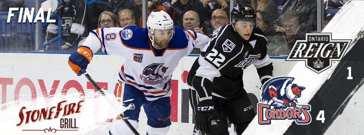 Reign Finish Homestand 4-2-0 with Loss vs Condors