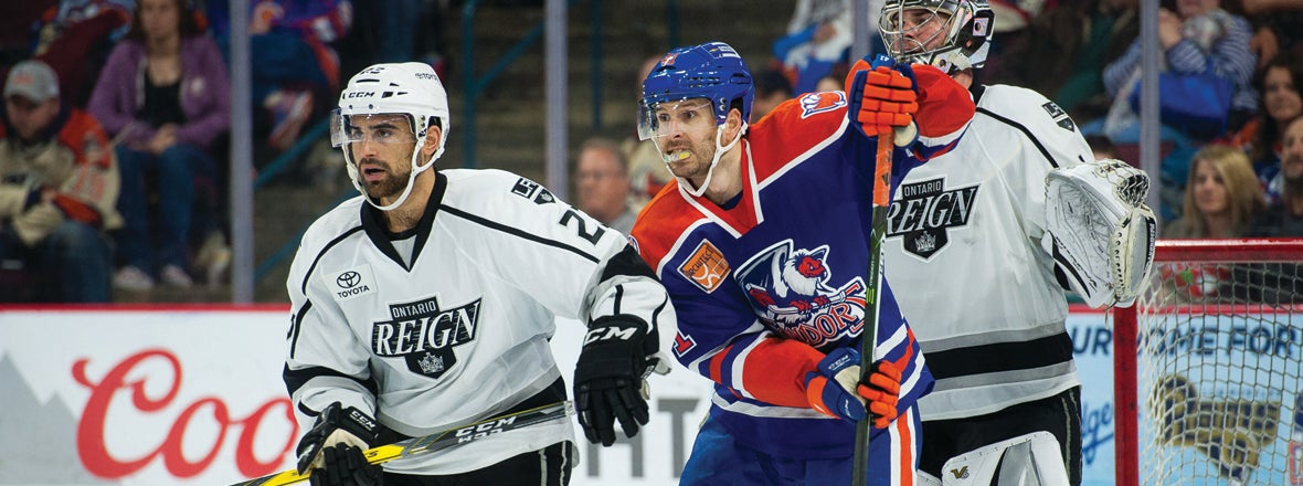 Reign Host Condors in 2017-18 Home Opener