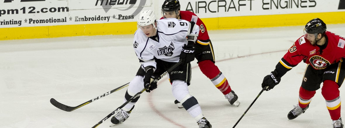 ONTARIO REIGN HOME OPENER ON OCTOBER 12