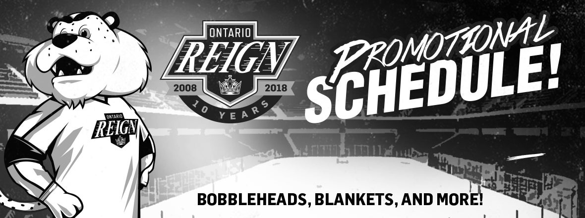Reign Unveil 2017-18 Promo Schedule!