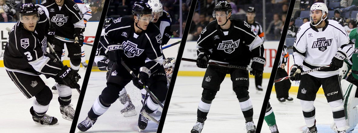 LA KINGS RE-SIGN FOUR