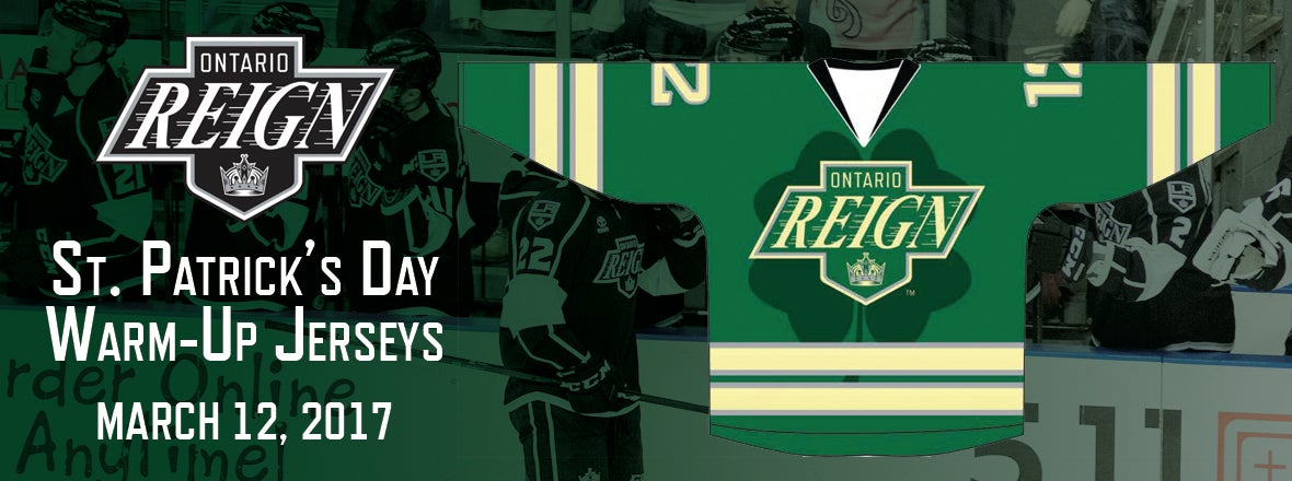 Reign Celebrate St. Patrick s Day on Sunday!    Ontario Reign bfbd7dd2d