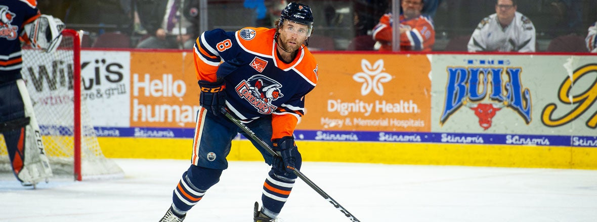 REIGN ADD RYAN STANTON ON AHL DEAL