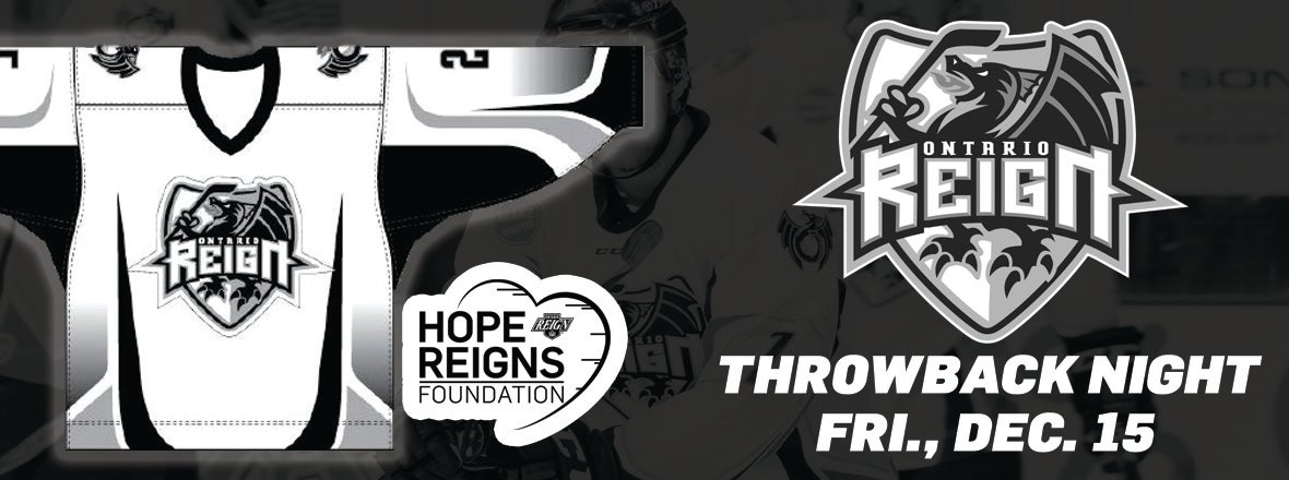 Reign Celebrate History With Throwback Jerseys This Friday
