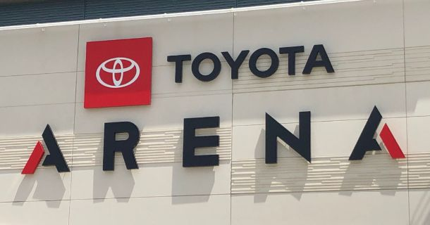 REIGN HOME RE-BRANDED AS TOYOTA ARENA