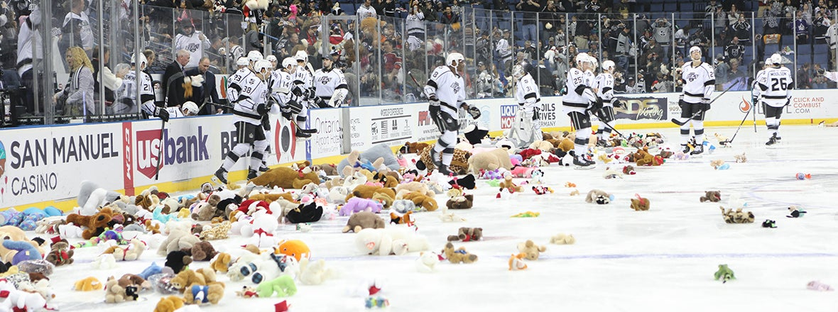RECORD SETTING TEDDY TOSS WEEKEND