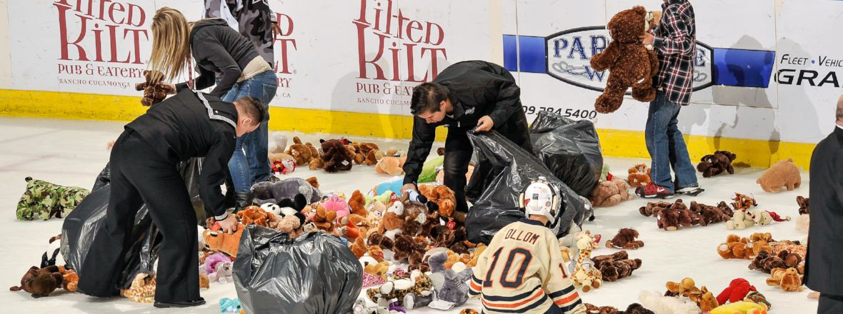 Reign Celebrate Teddy Bear Toss Tonight vs. Checkers