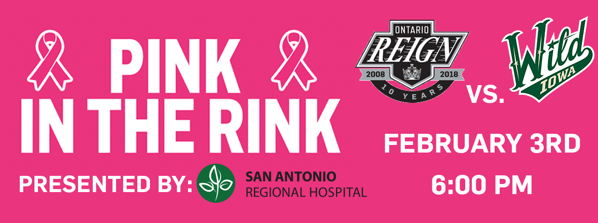 REIGN HOST PINK IN THE RINK