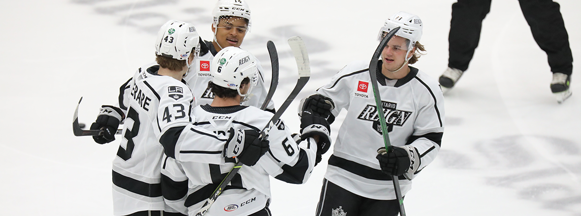 Reign win 9-4 to finish out regular season