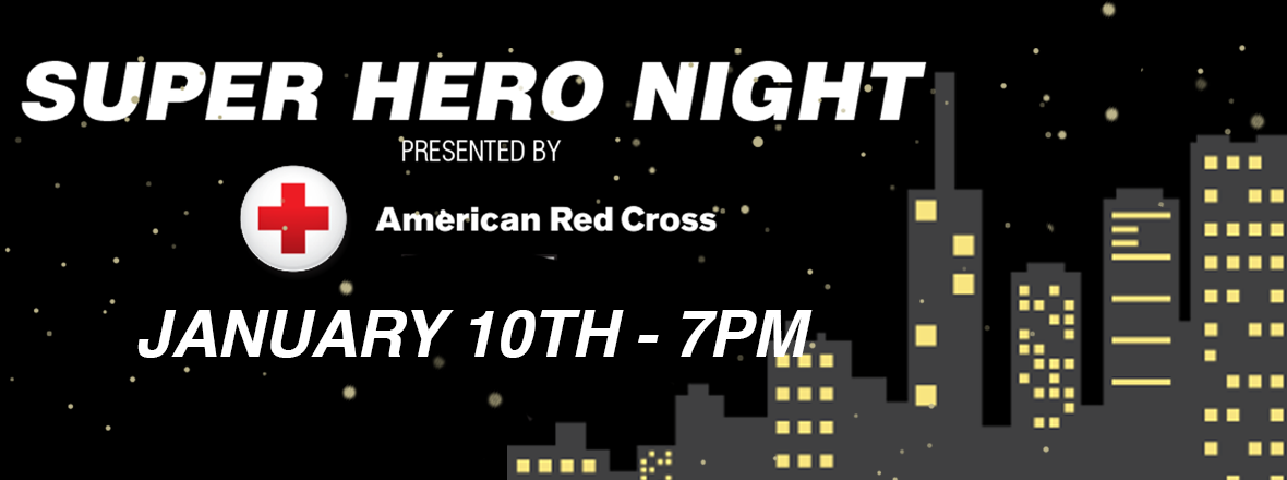 Reign Host Super Hero Night