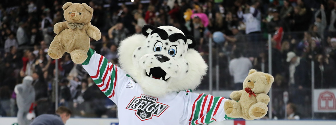 REIGN RAISE $9,500 FROM VIRTUAL TEDDY BEAR TOSS