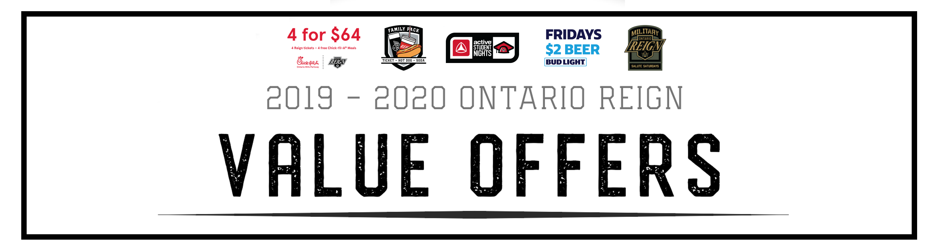 Chick Fil A Calendar Offer February 2020 Value Offers   Single Game Ticket Deals :: Ontario Reign