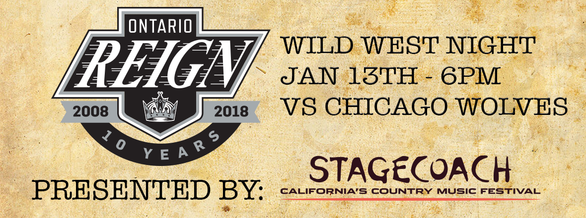REIGN HOST WILD WEST NIGHT